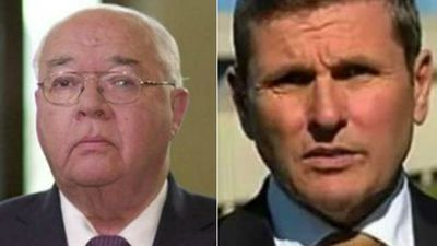 Chris Uhlmann v Laurie Oakes in battle of the big guns