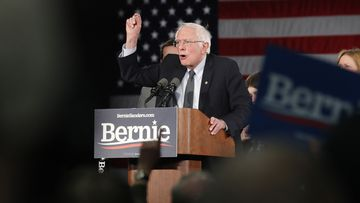 Bernie Sanders entered the caucuses with momentum and is expected to have performed strongly.