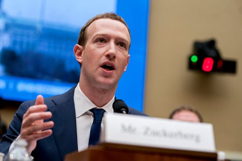 Facebook CEO Mark Zuckerberg and other tech executives also faced congressional hearings earlier this year.