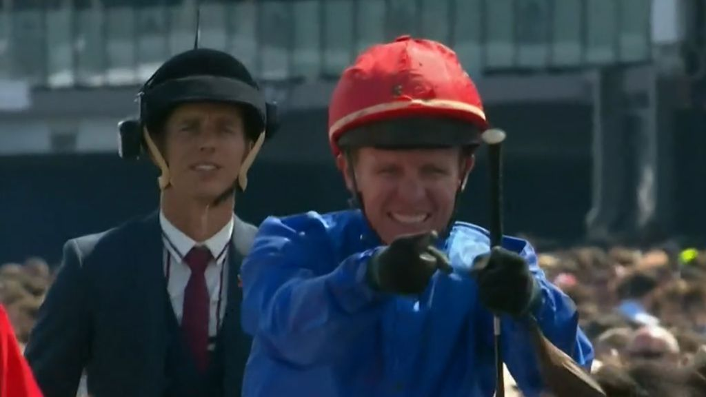 'We don't want to see what happened last year': Melbourne Cup jockeys sent whip warning text