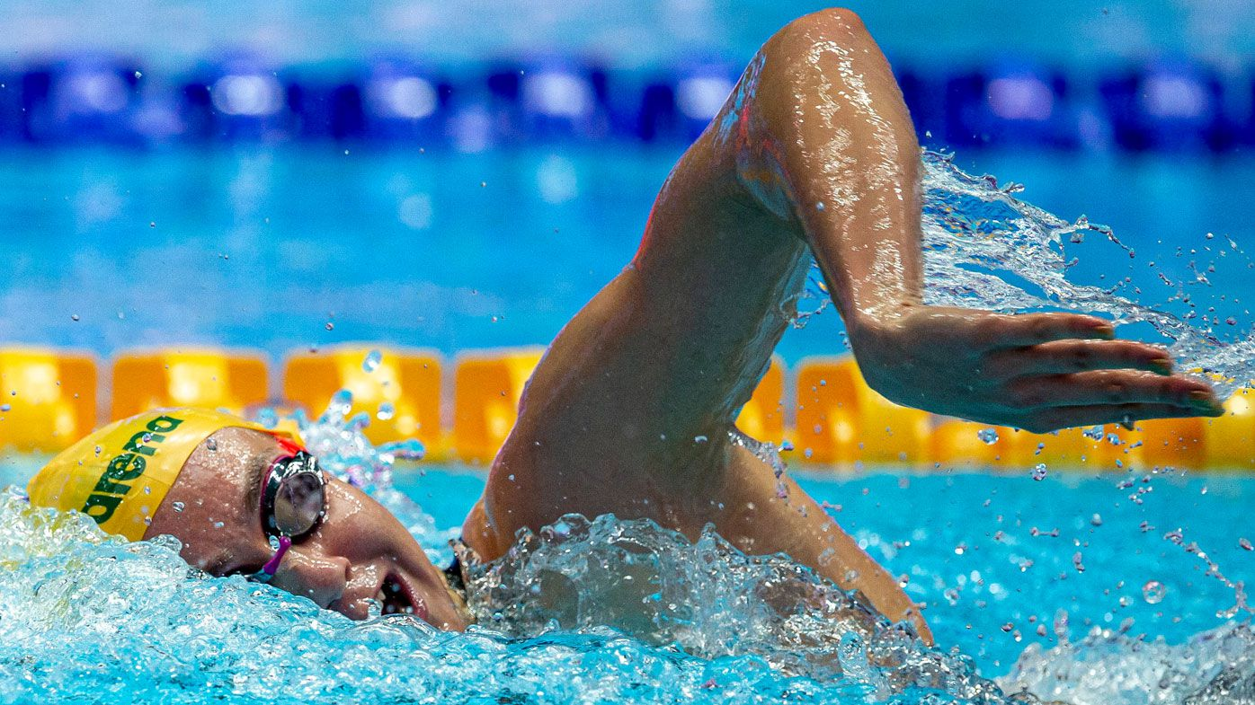 Aussie Ariarne Titmus stuns American Katie Ledecky with major upset at world swim titles