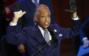 Reverend Al Sharpton says George Floyd's death marks a reckoning for America: 'Get your knee off our necks'