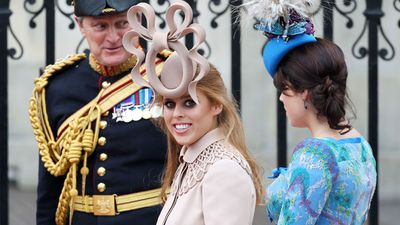 Princess Beatrice at the wedding of Prince William and Kate Middleton, April 2011