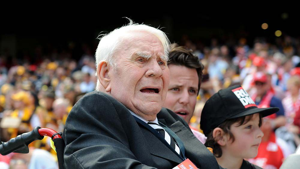 AFL great Lou Richards