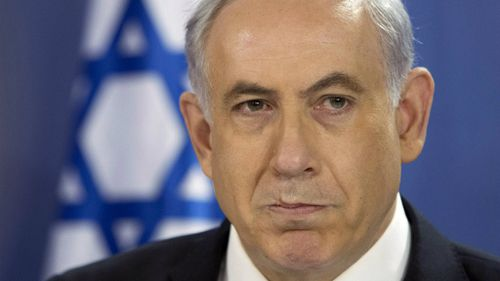 Israel prime minister says he supports a two-state solution