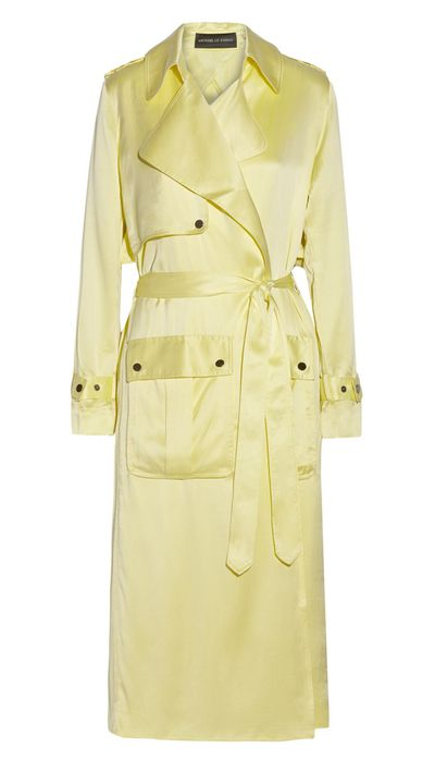 "<p><a href=""http://http://www.net-a-porter.com/product/503288/Michael_Lo_Sordo/washed-silk-satin-trench-coat"" target=""_blank"">Washed Silk Satin Trench Coat, $879, Michael Lo Sordo</a></p>"