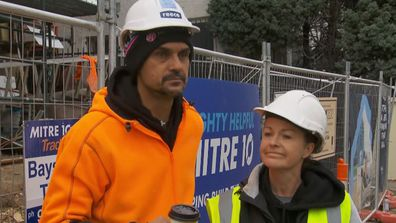 Deb reveals how special it was for Foreman Dan to offer to help their team