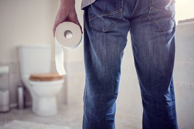 Toilet time becomes an issue
