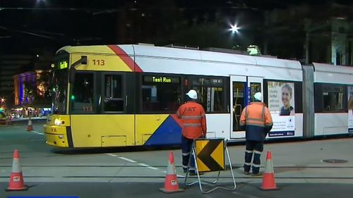 The project was due to be finished six months ago. (9NEWS)