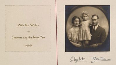 Royal Family shares archival Christmas card