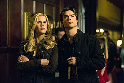 Between 2011 and 2014 Claire appeared as Rebekah Mikaelson in 38 episodes of <i>The Vampire Diaries</i> with Ian Somerhalder.