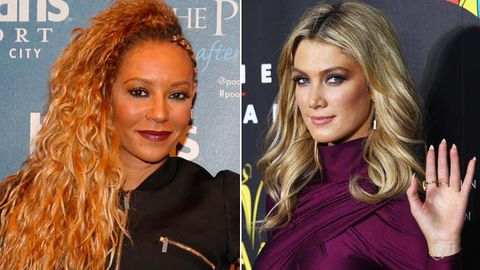 Work it, ladies! Delta Goodrem and Mel B share first Voice Kids selfies