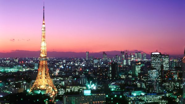Image result for tokyo by night