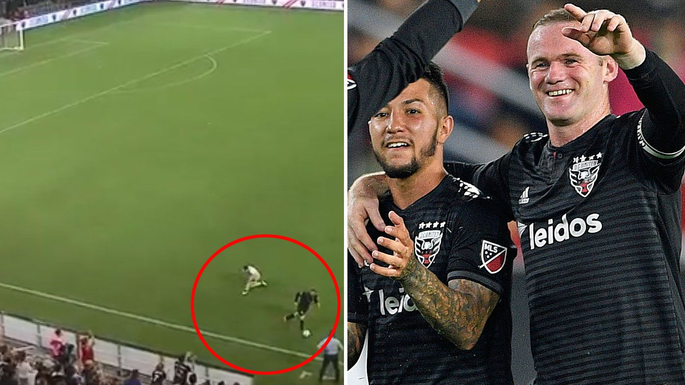 People are loving Wayne Rooney's magic moment in the MLS