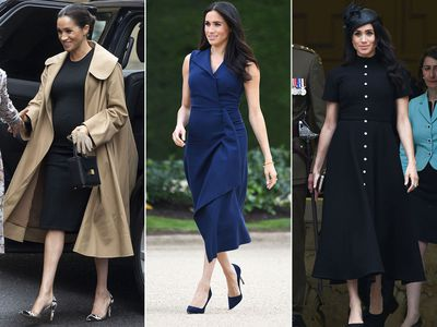 Meghan Markle's preferred colour of choice