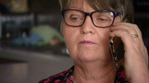 Grandmother Debra Evans has also been targeted by scammers.