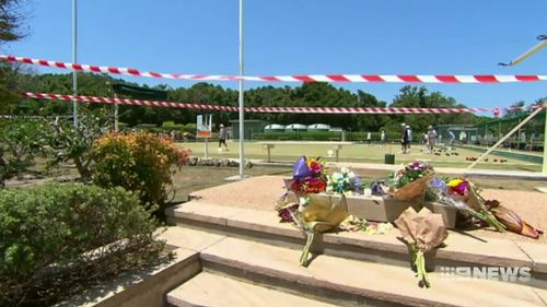 The little girl died after a memorial, weighing 425kg, fell on her at a bowling club on the NSW mid-north coast.