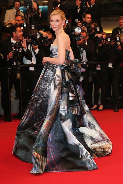 Cate Blanchett in Giles Fall 2015