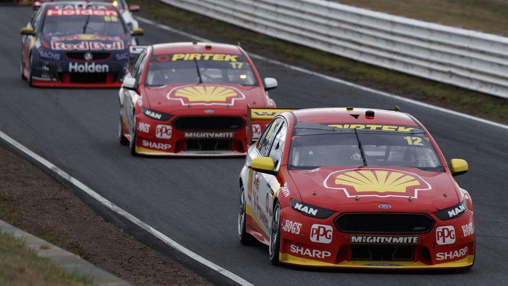 Fabian Coulthard claims Supercars spoils in wet for DJR Team Penske