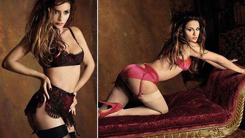 Penelope who? Monica Cruz stuns in steamy lingerie ads