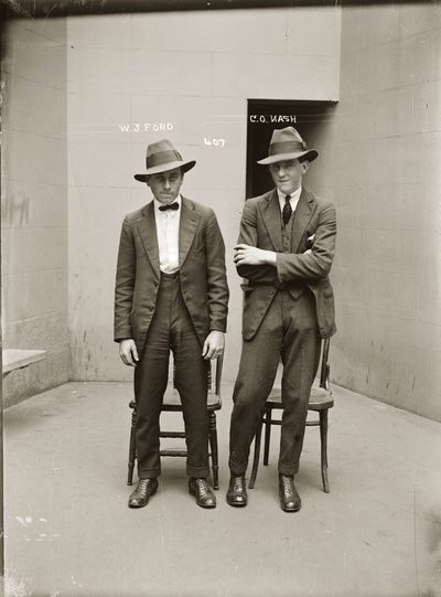 John Walter Ford and Oswald Clive Nash, 1921