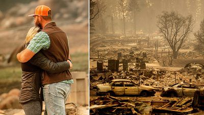 California wildfires: One of the state's deadliest ever blazes