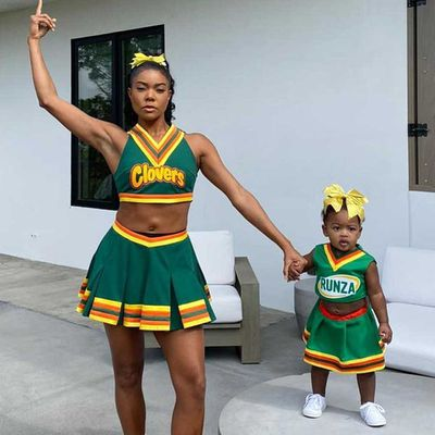 Gabrielle Union and Kaavia Wade