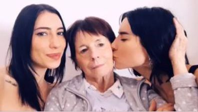 The Veronicas, Jessica and Lisa Origliasso and mum Colleen
