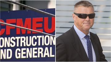Former CFMEU boss David Hanna is on trial over allegedly destroying sensitive documents while in power.