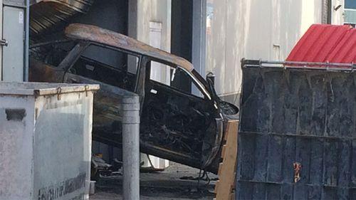 Thieves torch car after Melbourne ram raid