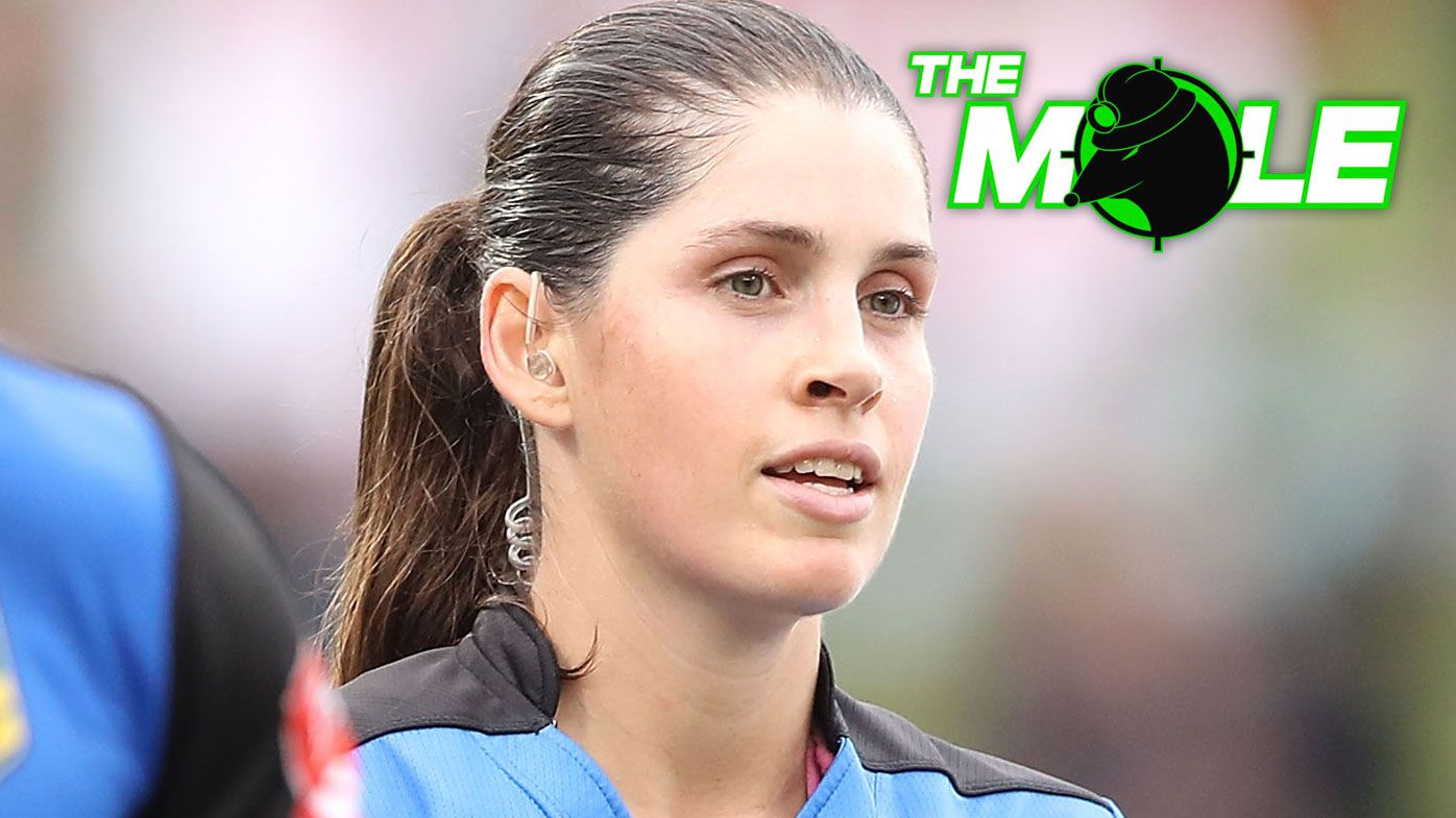 The Mole: Kasey Badger, ground-breaking referee, in brave health battle