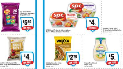 There are some tasty looking treats on sale at IGA this week.
