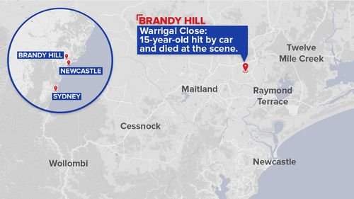 A map showing where the tragic incident occurred. (9NEWS)