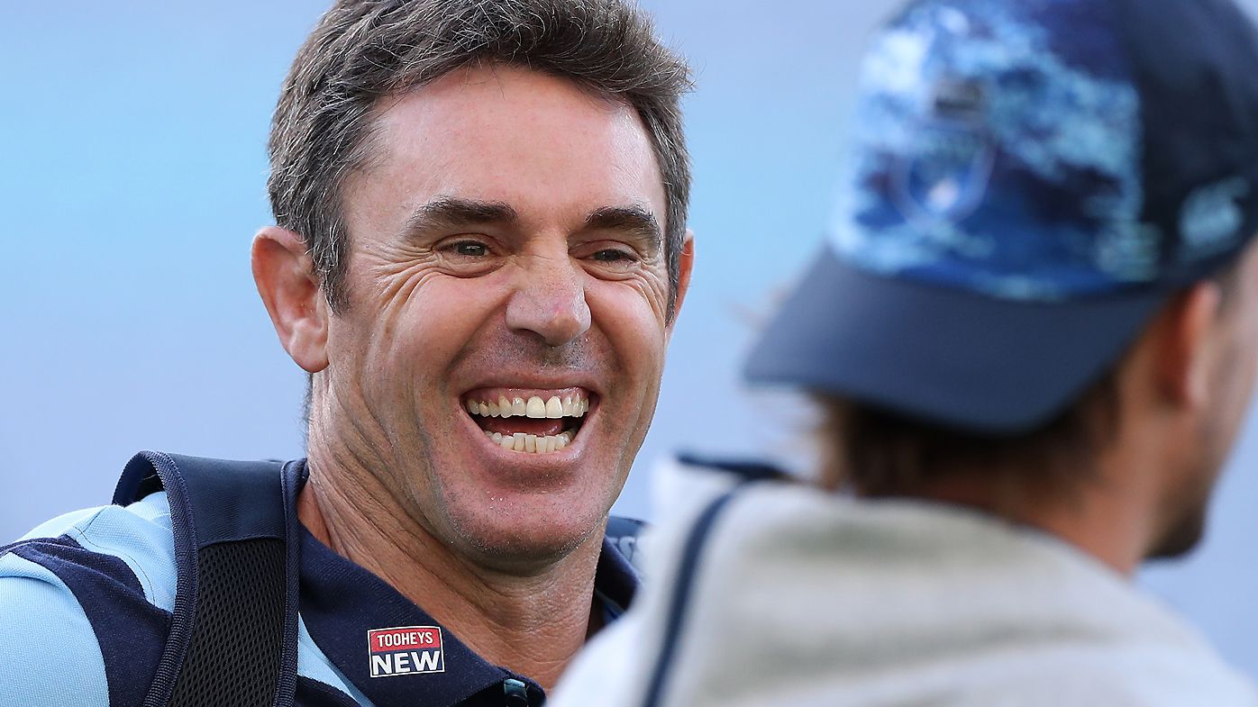 Blues coach Brad Fittler