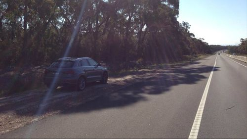 His car was found on the side of Picton Road in Wollongong, south of Sydney.