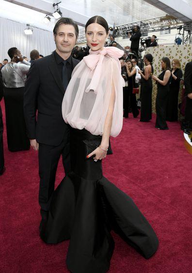 Tony McGill and Caitriona Balfe