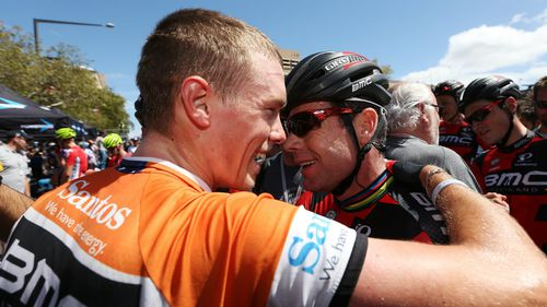 Rohan Dennis wins maiden Tour Down Under amid crash carnage