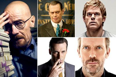 <b>The nominees:</b><br/><br/>Bryan Cranston — <I>Breaking Bad</I><br/>Steve Buscemi — <I>Boardwalk Empire</I><br/>Michael C. Hall — <I>Dexter</I><br/>Jon Hamm — <I>Mad Men</I><br/>Hugh Laurie — <I>House</I><br/><br/><b>We predicted:</b> While you can never say that anyone will <i>definitely</i> win an award... Bryan Cranston will definitely win this award. <b>So, who won?</b>