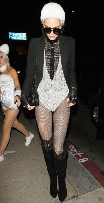 Kendall Jenner as Karl Lagerfeld, 2015