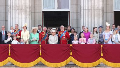 Trooping the Colour 2019 balcony shot Flora Alexandra Ogilvy 2