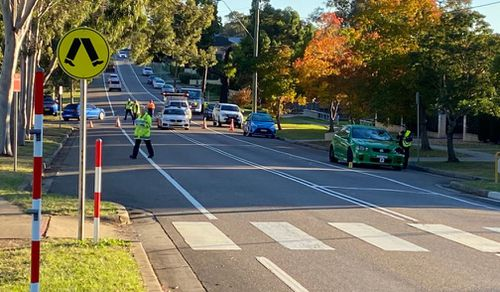 Man critical after he was 'run down by P-plater' in Sydney's south-west