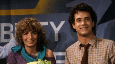 Penny Marshall and Tom Hanks