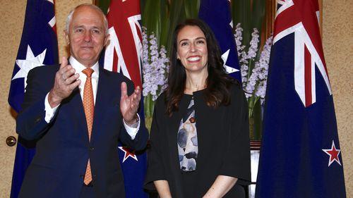 The two leaders met in Sydney last November. (AAP)