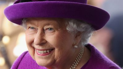 She says the Queen hosted the celebrity sleepover around 10 years ago.