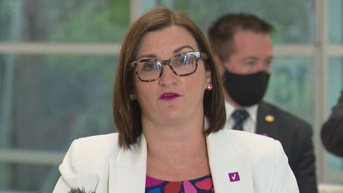 NSW Education Minister Sarah Mitchell