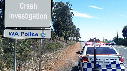 Police question man after cyclist killed in hit-and-run near Perth