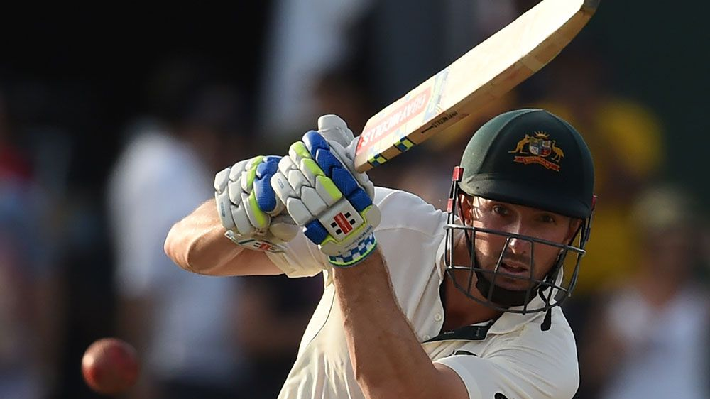 Shaun Marsh fighting for Aussie Test spot