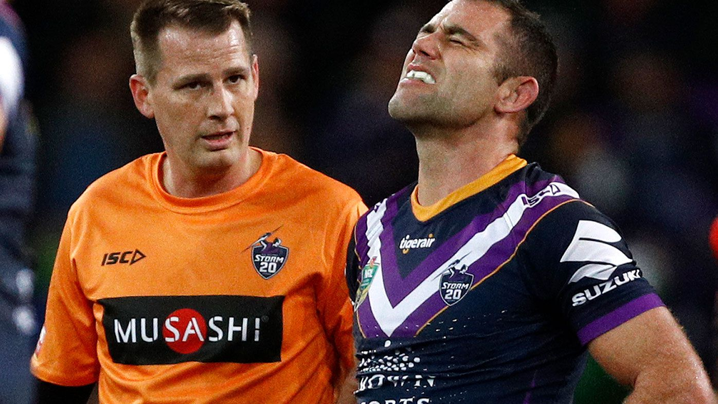 Melbourne Storm NRL captain Cameron Smith