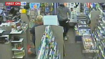 VIDEO: Grandmother newsagent robbed by thug in Queensland