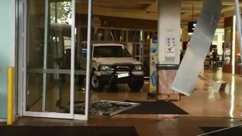 Police believe the men also left a stolen van behind. (9NEWS)
